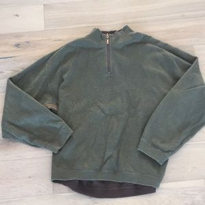 Tommy Bahama reversible pullover sweater